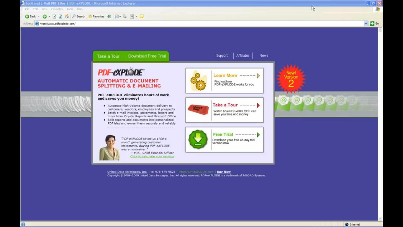 PDF Batch Emailing Software – PDF-eXPLODE com